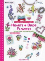 Cross Stitch Mini Motifs: Hearts, Birds, Flowers