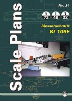 Scale Plans No. 24: Messerschmitt BF 109e