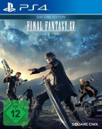 Final Fantasy XV, 1 PS4-Blu-Ray-Disc (Day One Edition)