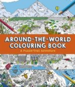 Around-the-World Colouring Book