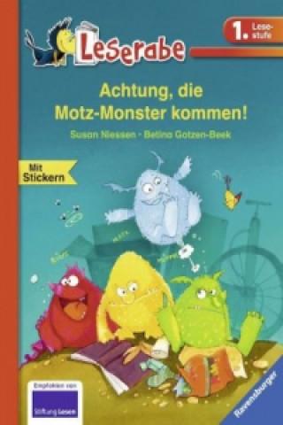 Achtung, die Motz-Monster kommen!