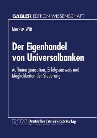 Der Eigenhandel Von Universalbanken