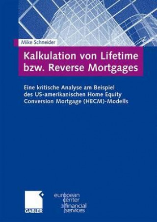 Kalkulation Von Lifetime Bzw. Reverse Mortgages