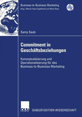 Commitment in Gesch ftsbeziehungen