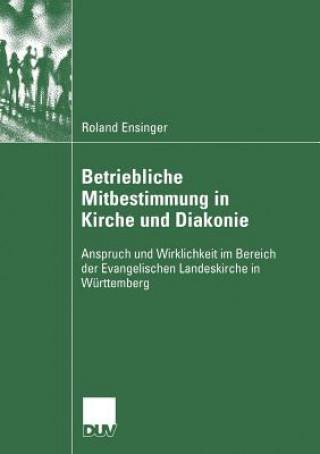 Betriebliche Mitbestimmung in Kirche Und Diakonie