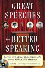 Great Speeches For Better Speaking (Book + Audio CD)