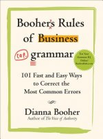 Booher's Rules of Business Grammar
