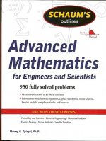 Schaum's Outline of Advanced Mathematics for Engineers and S
