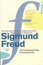 Complete Psychological Works Of Sigmund Freud, The Vol 6