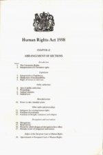 Human Rights Act, 1998