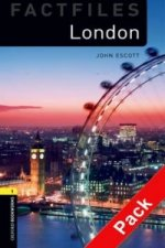 Oxford Bookworms Library Factfiles: Level 1:: London audio CD pack