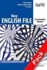 New English File: Pre-intermediate: Workbook with MultiROM Pack