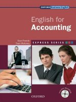 Express Series: English for Accounting Student's Book and Mu