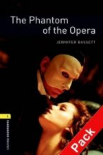 OXFORD BOOKWORMS LIBRARY New Edition 1 PHANTOM OF THE OPERA with AUDIO CD PACK