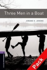 OXFORD BOOKWORMS LIBRARY New Edition 4 THREE MEN IN A BOAT with AUDIO CD PACK