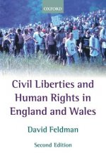 Civil Liberties and Human Rights in England and Wales