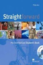 Straightforward Pre-Intermediate Student's Book & CD-ROM Pack