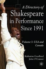 Directory of Shakespeare in Performance Since 1991