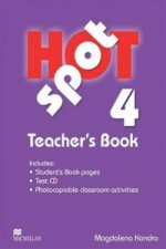 Hot Spot 4 Teacher's Book with Test CD
