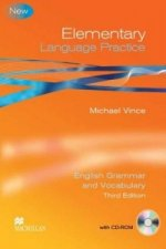 Elementary Language Practice Student Book with Key and CD ROM - Suitable for KET / A2 Level