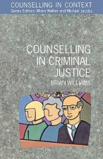 Counselling In Criminal Justice