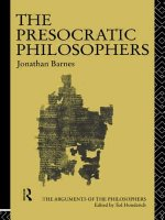 Presocratic Philosophers