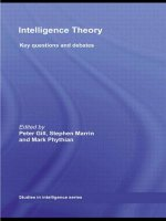 Intelligence Theory