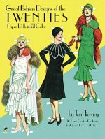 Great Fashion Designs of the Twenties Paper Dolls in Full Co