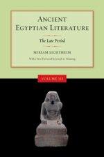 Ancient Egyptian Literature, Volume III