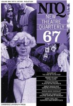 New Theatre Quarterly 67: Volume 17, Part 3