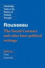 Rousseau: 'The Social Contract' and Other Later Political Wr