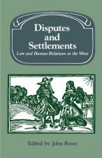 Disputes and Settlements
