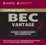 Cambridge BEC Vantage 2 Audio CD
