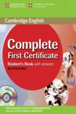 Complete First Certificate Student's Book with Answers with