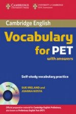 Cambridge Vocabulary for PET Student Book with Answers and A