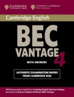 Cambridge BEC 4 Vantage Student's Book with answers