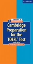 Cambridge Preparation for the TOEFL (R) Test Audio CDs (8)