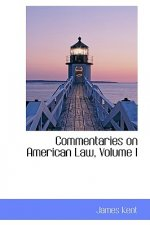 Commentaries on American Law, Volume I