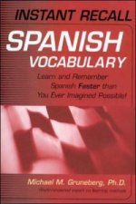 Instant Recall Spanish Vocabulary