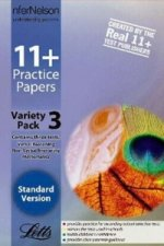 11+ Practice Papers, Variety Pack 3