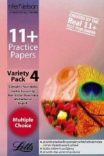 11+ Practice Papers, Variety Pack 4, Multiple Choice