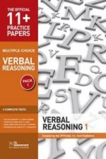 11+ Practice Papers, Verbal Reasoning Pack 1, Multiple Choic