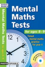 Mental Maths Tests for Ages 8-9
