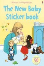 New Baby Sticker Book