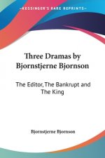 Three Dramas by Bjornstjerne Bjornson