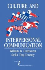 Culture and Interpersonal Communication