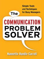 Communication Problem Solver