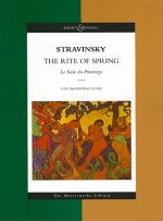 The Rite of Spring, Studienpartitur