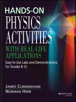 Hands on Physics Activities with Real Life Applica Applicati