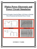 PSpice Power Electronic and Power Circuit Simulation